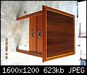 mahogany end table-top-view-jpg